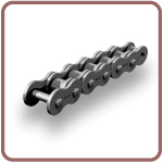 Roller chains Side bow